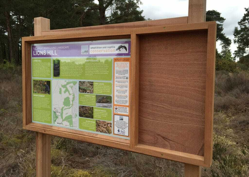 Interpretation Panel Print And Installation