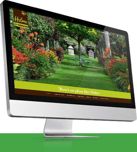 Garden Centre Website Design