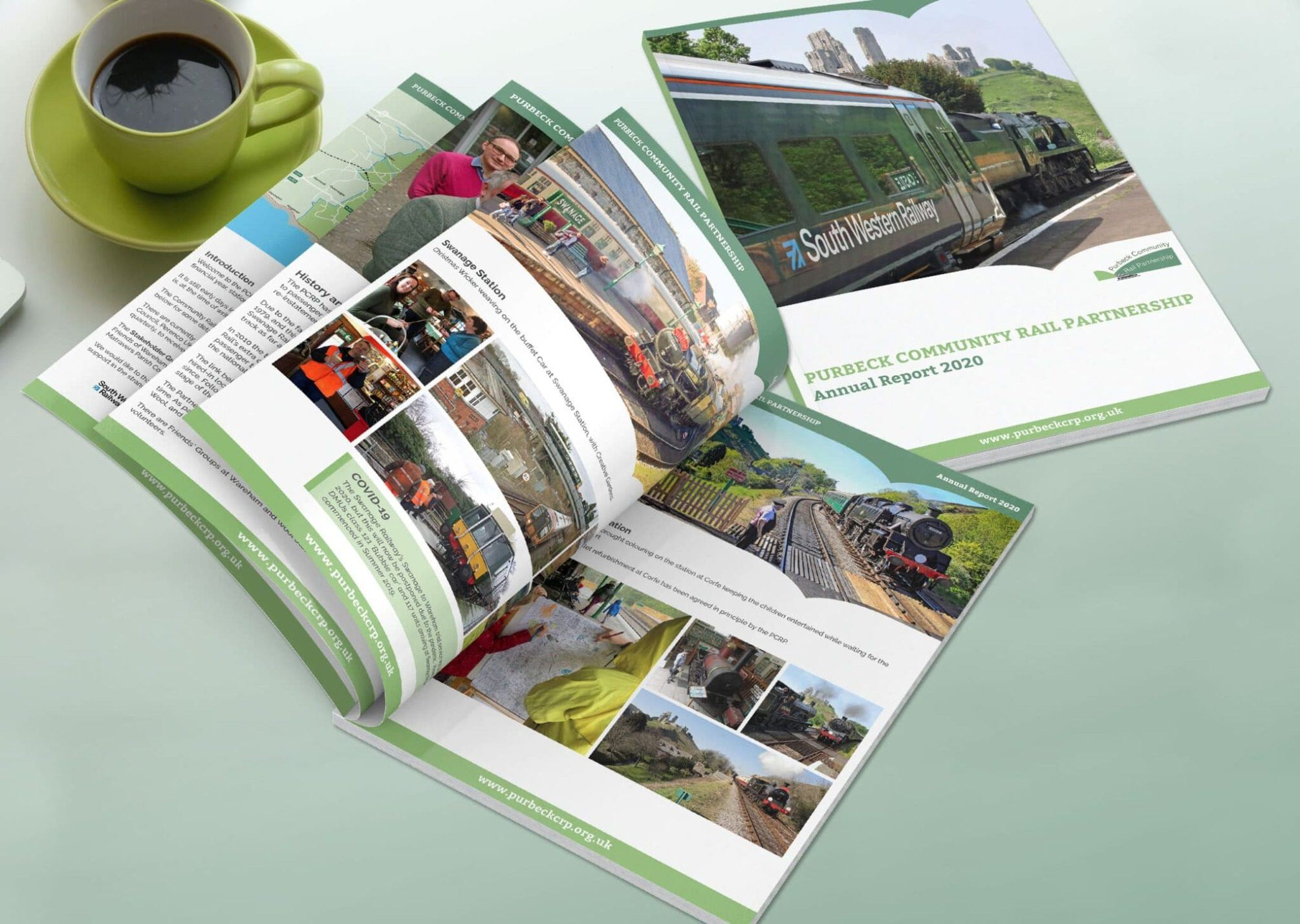 A4 Annual Accounts Design And Print